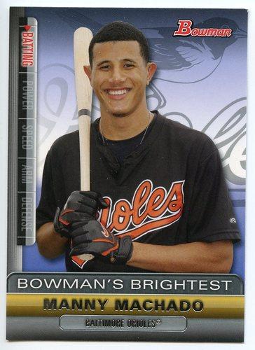 Photo of 2011 Bowman Bowman's Brightest #BBR19 Manny Machado