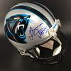 Panthers - Thomas Davis Signed Proline Helmet