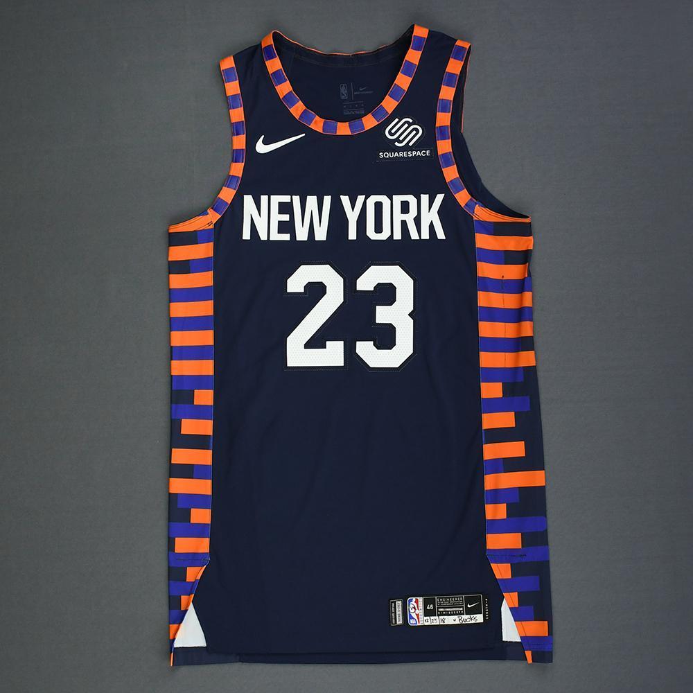 online retailer d5a73 fc050 Trey Burke - New York Knicks - Christmas Day' 18 - Game-Worn ...