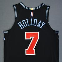 Justin Holiday - Chicago Bulls - Game-Worn City Edition Jersey - 2018-19 Season