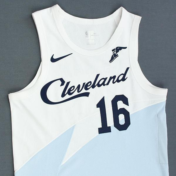 online store 273c0 41dad Cedi Osman - Cleveland Cavaliers - Game-Worn Earned City ...