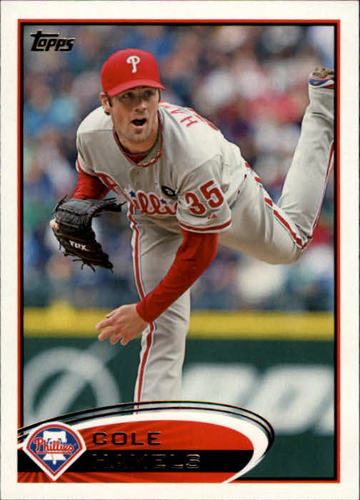 Photo of 2012 Topps #190 Cole Hamels