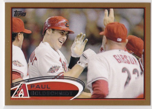 Photo of 2012 Topps Gold #608 Paul Goldschmidt