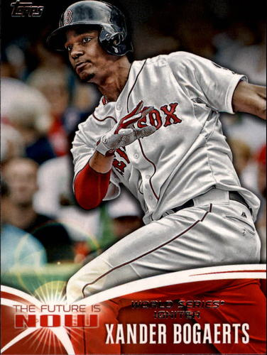 Photo of 2014 Topps The Future is Now #FN42 Xander Bogaerts