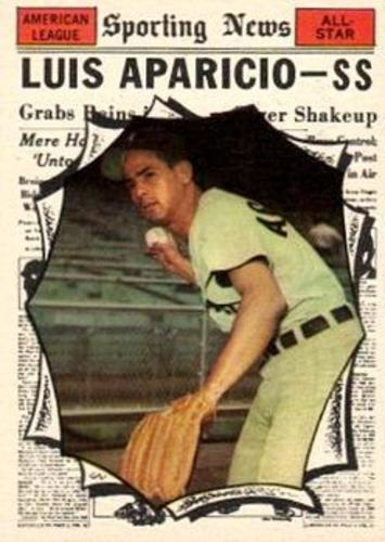 Photo of 1961 Topps #574 Luis Aparicio AS