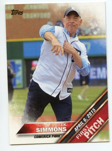 Photo of 2016 Topps First Pitch #FP18 J.K. Simmons S2
