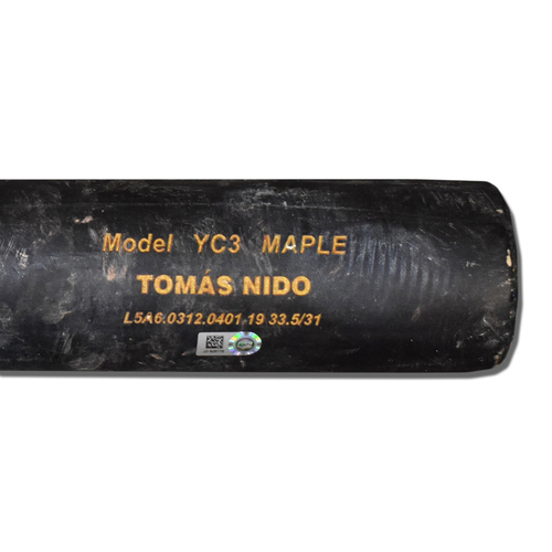 Photo of Tomas Nido #3 - Game-Used Cracked Bat - Mets vs. Phillies - 7/6/19