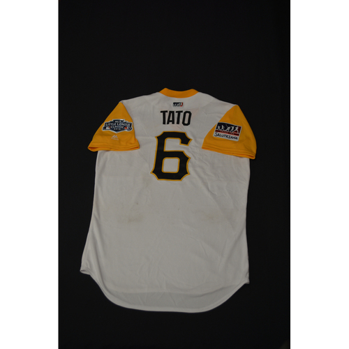 "Photo of 2019 Little League Classic - Game Used Jersey - Starling ""Tato"" Marte,  Chicago Cubs at Pittsburgh Pirates - 8/18/2019 (Size - 44)"