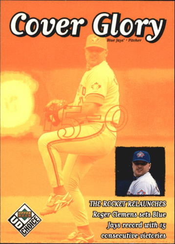 Photo of 1999 UD Choice #41 Roger Clemens CG