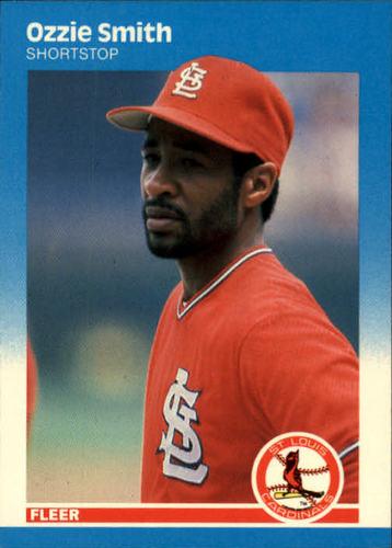 Photo of 1987 Fleer #308 Ozzie Smith