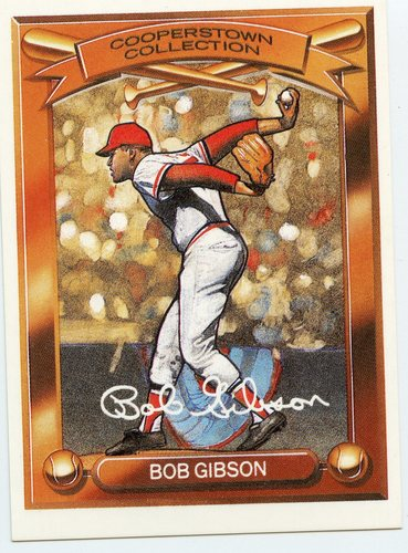 Photo of 1989 Kahn's Cooperstown #5 Bob Gibson