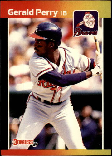Photo of 1989 Donruss #239 Gerald Perry