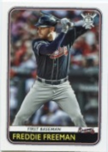 Photo of 2020 Topps Big League #116 Freddie Freeman