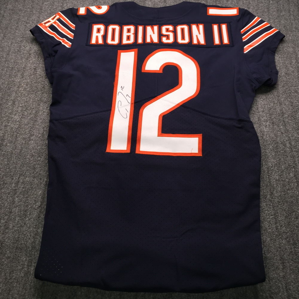 NFL Auction | Crucial Catch - Bears Allen Robinson Signed Game ...
