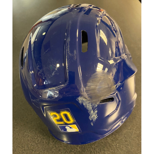 Photo of Team Issued Sunday Royal Helmet - #20
