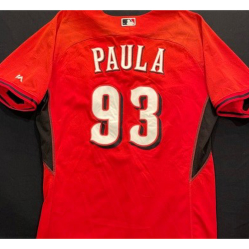 Photo of PAULA -- Authentic Reds Jersey -- $1 Jersey Auction -- $5 Shipping -- Size 46 (Not MLB Authenticated)