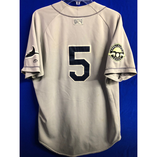 Photo of Team Issued Appalachian League Gray Jersey - #5