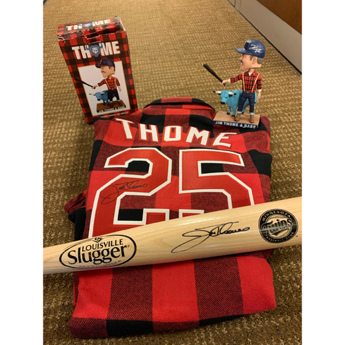 Photo of Jim Thome and Babe Bundle