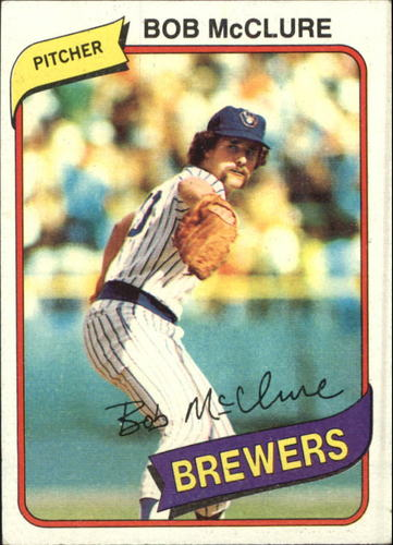 Photo of 1980 Topps #357 Bob McClure