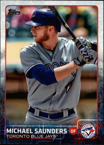Photo of 2015 Topps #424 Michael Saunders