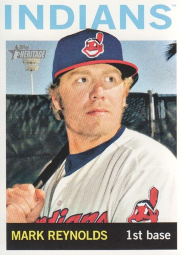 Photo of 2013 Topps Heritage #230 Mark Reynolds