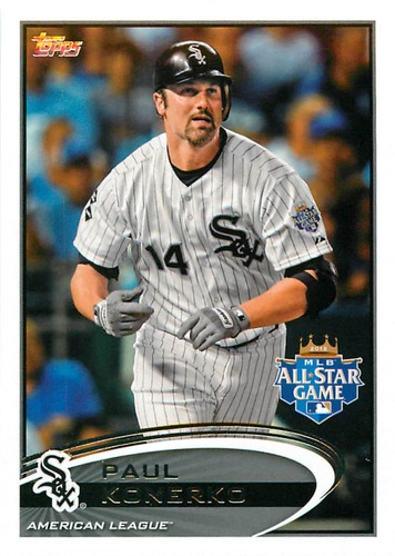 Photo of 2012 Topps Update #US148 Paul Konerko