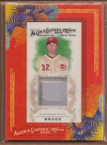 Photo of 2010 Topps Allen and Ginter Relics #JB Jay Bruce