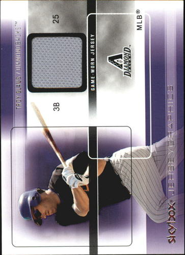 Photo of 2005 SkyBox Autographics Jerseygraphics Silver #TG Troy Glaus