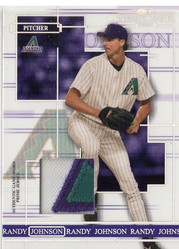 Photo of 2004 Donruss Timelines Material Prime #39 Randy Johnson Jsy