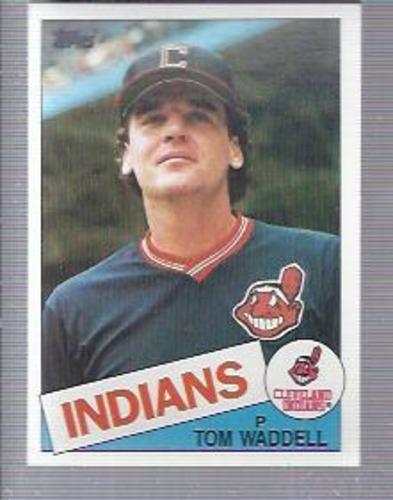 Photo of 1985 Topps #453 Tom Waddell