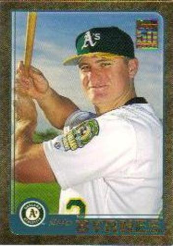 Photo of 2001 Topps Traded Gold #T207 Eric Byrnes