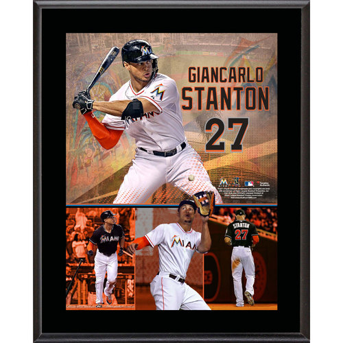 Giancarlo Stanton Photo Plaque
