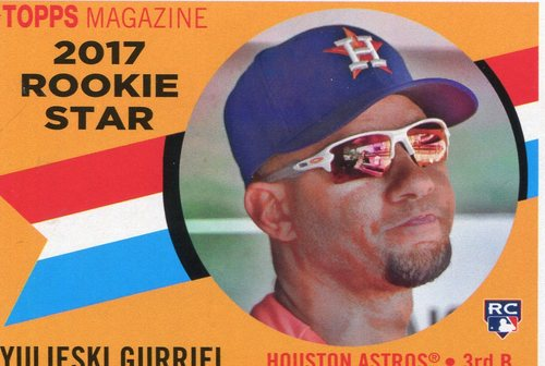 Photo of 2017 Topps Archives '60 Rookie Stars #RS7 Yulieski Gurriel