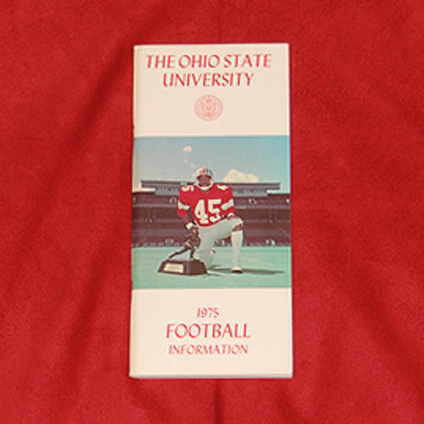 Photo of Ohio State 1975 Football Information Guide