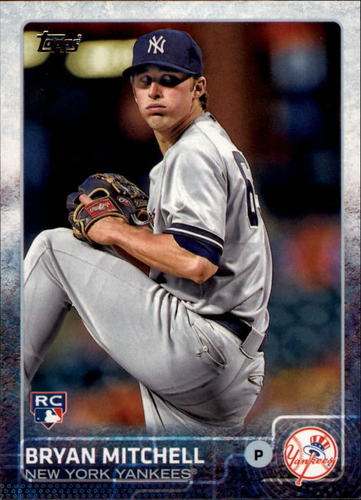 Photo of 2015 Topps #224 Bryan Mitchell Rookie Card -- Yankees post-season