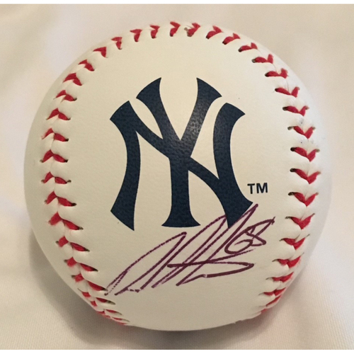 Photo of AutographedDellinBetancesBaseball - Not MLB Authenticated