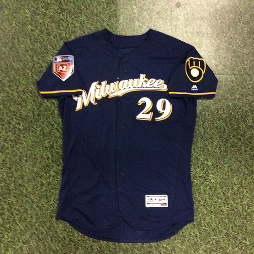 Photo of Christian Bethancourt 2018 Game-Used Spring Training Jersey