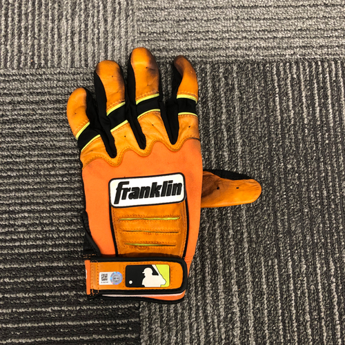 Photo of 2018 Holiday Deal! - Team Issued Batting Orange Glove - #8 Hunter Pence