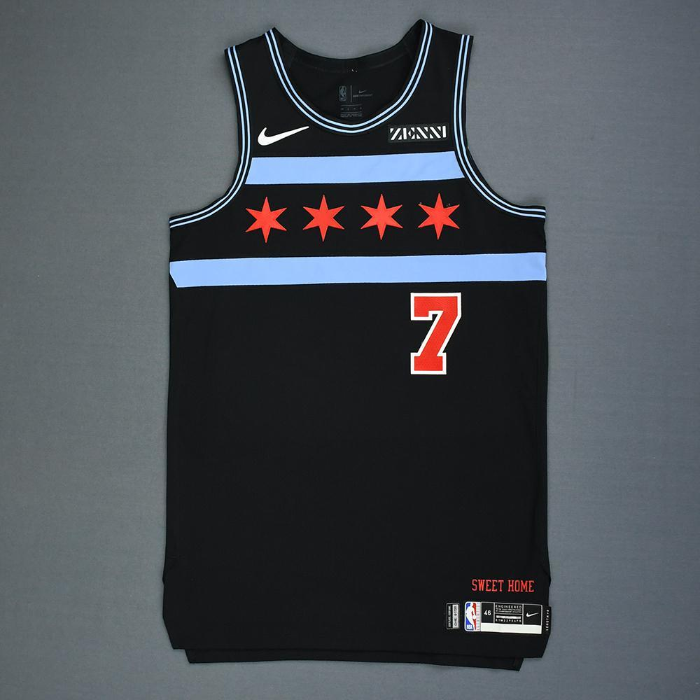 Justin Holiday - Chicago Bulls - Game-Worn City Edition Jersey - 2018-19 Season
