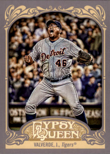 Photo of 2012 Topps Gypsy Queen #178 Jose Valverde