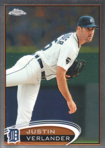 Photo of 2012 Topps Chrome #93A Justin Verlander