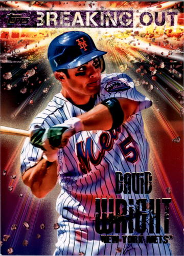 Photo of 2014 Topps Opening Day Breaking Out #BO7 David Wright