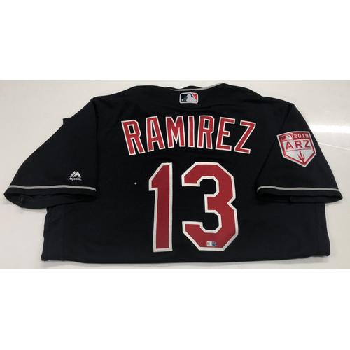 Photo of Hanley Ramirez Game-Used 2019 Spring Training Jersey