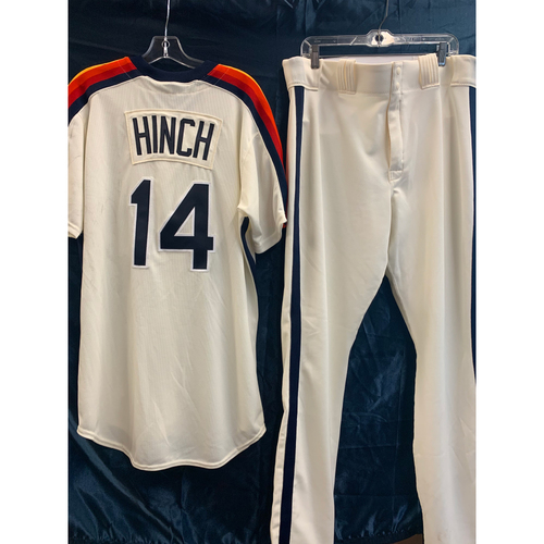 Photo of 2019 Turn-Back-The-Clock A.J. Hinch Game-Used Uniform Package