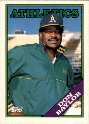 Photo of 1988 Topps Traded #11T Don Baylor