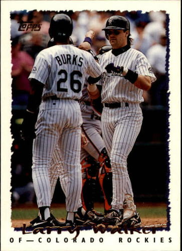 Photo of 1995 Topps Traded #20T Larry Walker