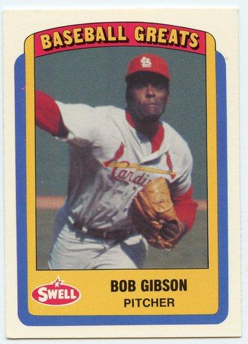Photo of 1990 Swell Baseball Greats #120 Bob Gibson