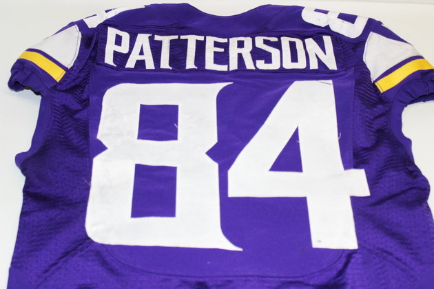 reputable site a98ae 1abff NFL Auction | VIKINGS CORDARRELLE PATTERSON GAME WORN JERSEY ...