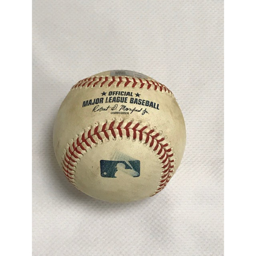 Photo of 9/9/20 Game-Used Baseball, Los Angeles Dodgers at Arizona Diamondbacks: Bottom 2nd, Clayton Kershaw vs. Tim Locastro (Tripled, Scored Daulton Varsho) and Nick Ahmed (Foul)