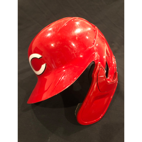 Photo of Tyler Stephenson -- 2020 Game-Used Helmet -- Worn for MLB Debut and First Career Hit and Home Run -- Helmet Scheduled to Arrive Prior to Dec 24